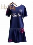 Kaos Futsal Biru Barbie FC Jakarta