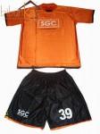 Kaos Futsal Coklat PT SGC Pekan Baru